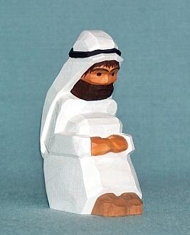 Beduine, sitzend, 7,5 cm (Typ 1)