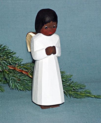 Engel, stehend, farbig, 12,5 cm (Typ 2)