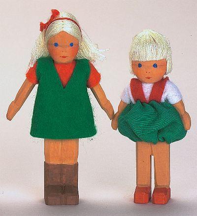 Bub, blond, 9 cm