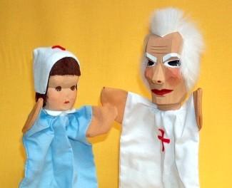 Set: Doktor und Krankenschwester