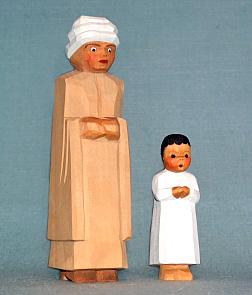 Berber, stehend, 13 cm (Typ 1)