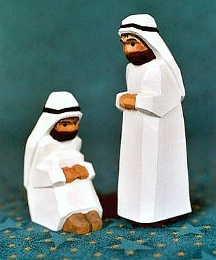 Beduine, stehend, 11,5 cm Typ 1)
