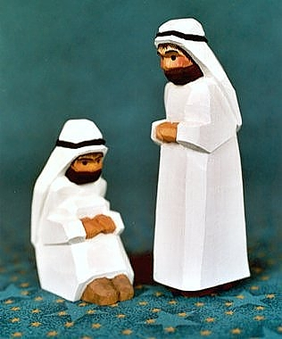 Bedouin, sitting, 7,5 cm (Type 1)