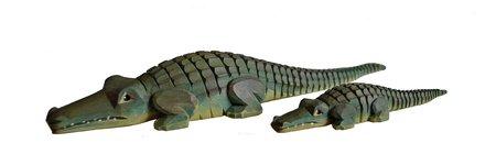 Krokodil, klein (Typ 1)
