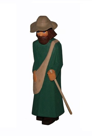 Pilger, mit Hut (Typ 2)