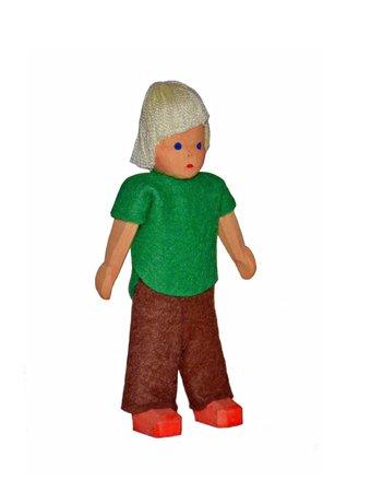 Junge, groß, blond, 10 cm