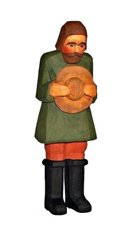 Hirte, grün, 24 cm (Typ 2)