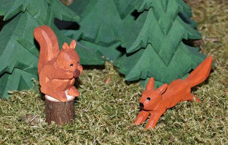 Eichhörnchen, 2,5 cm* - 3,5 cm (Typ 1)